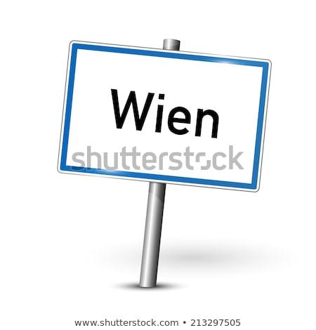 city limit of vienna Stock photo © meinzahn
