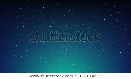 Abstract Aurora and Starry Background Stock photo © derocz