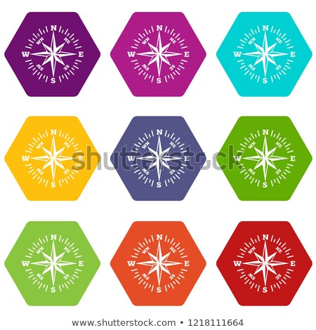 Star arrow coloful logo vector Stock photo © acong_kecil