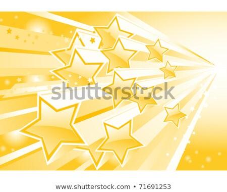 Star wybuchu strumienia ilustracja Zdjęcia stock © Winner