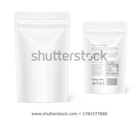 plastica · imballaggio · alimentare · spazio · bag - foto d'archivio © bluering