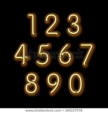 Numerical figures and operations Stock photo © bluering