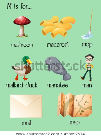 different words begin with letter i stock photo © bluering