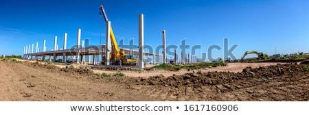 строительство · промышленности · производства · закат - Сток-фото © zurijeta