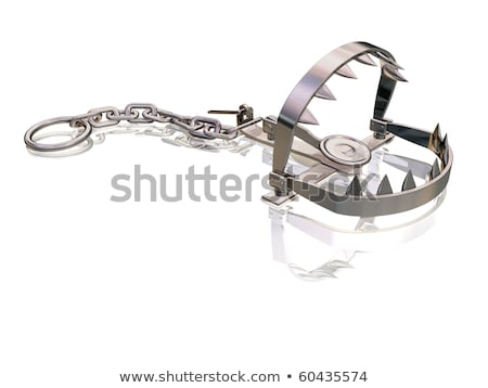 Snapping bear trap Stock photo © paulfleet