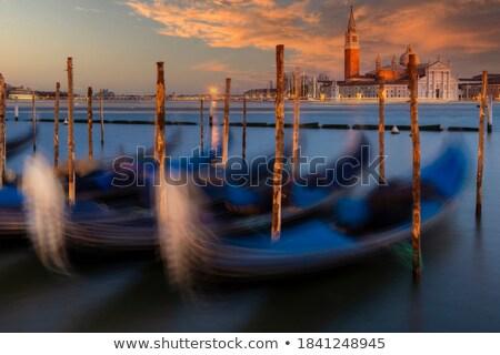 boat floating from the island of san giorgio stock photo © oleksandro
