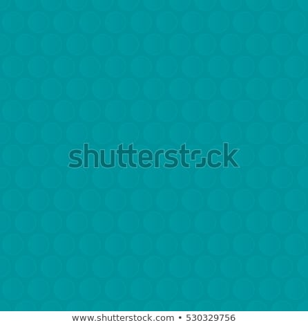 Bubble Wrap. Turquoise Neutral Seamless Pattern for Modern Desig Stock photo © almagami