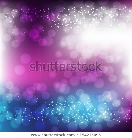 natal · flocos · de · neve · cartão · abstrato · luz - foto stock © beholdereye