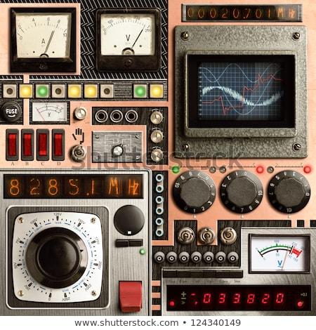 Old oscilloscope, technical equipment Stock photo © michaklootwijk