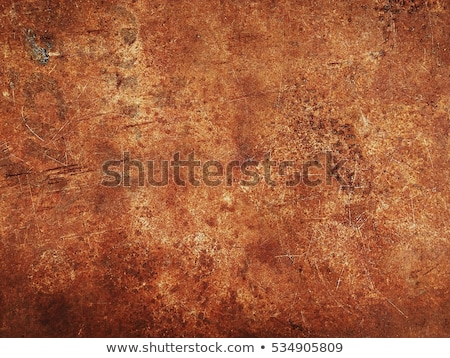 Brown rust texture Stock photo © Zela