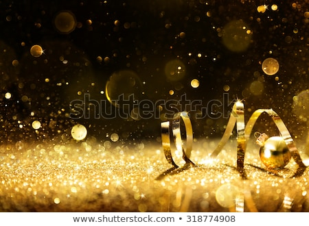 Black And Confetti Party Background Stock photo © Bigalbaloo