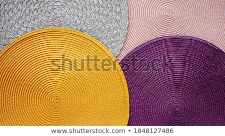 Round purple table mat Stock photo © Digifoodstock