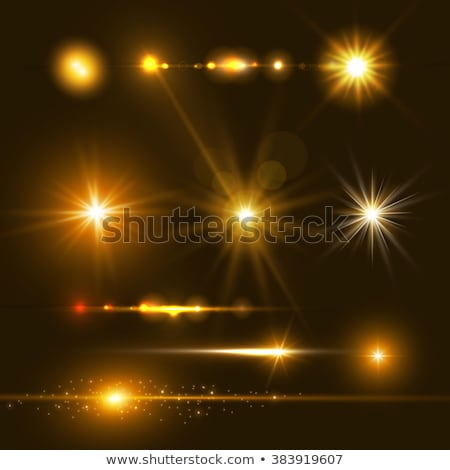 soleil · lumière · bokeh · lentille · transparent - photo stock © sarts