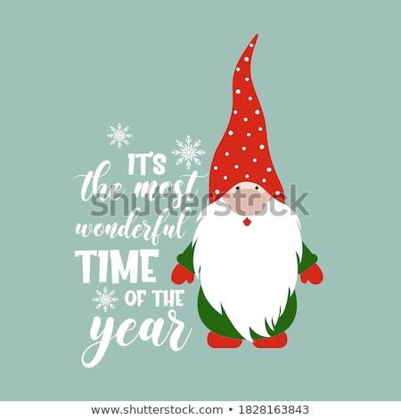 ベクトル 手描き 陽気な クリスマス やる気を起こさせる 引用 ストックフォト © Dahlia
