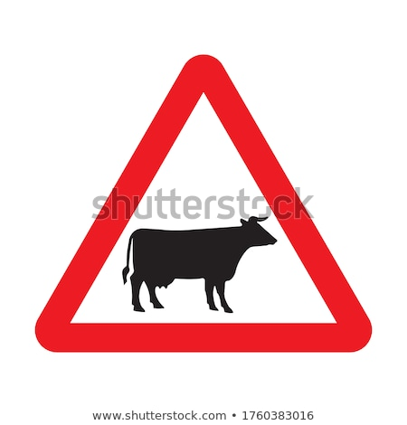 Red triangle warning sign Stock photo © Nobilior