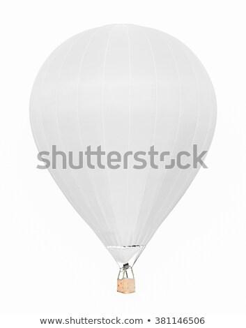white airship Stock photo © mayboro