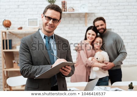 Paar Problem Familie Psychologe personen Beziehung Stock foto © dolgachov