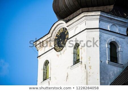 Katedrális Tallinn Észtország templom domb égbolt Stock fotó © borisb17