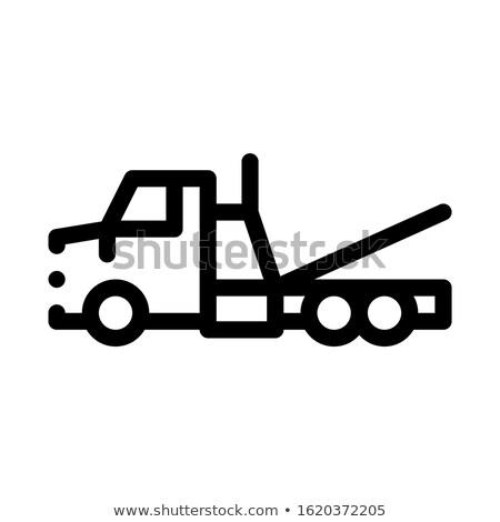 трюк службе икона вектора иллюстрация Сток-фото © pikepicture