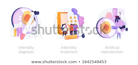 Infertility diagnosis abstract concept vector illustration. Stock photo © RAStudio