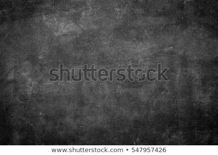Stok fotoğraf: Blackboard Chalkboard Texture