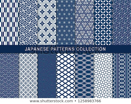Seamless Japanese pattern Stock photo © Losswen