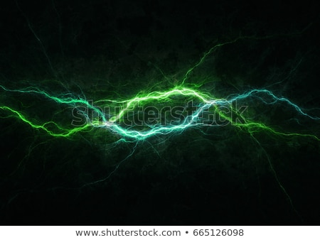 Abstract groene flash technologie kunst golf Stockfoto © phyZick