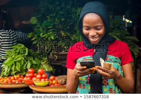 arany · érmék · repülés · ki · okos · mobiltelefon · illusztráció - stock fotó © pkdinkar