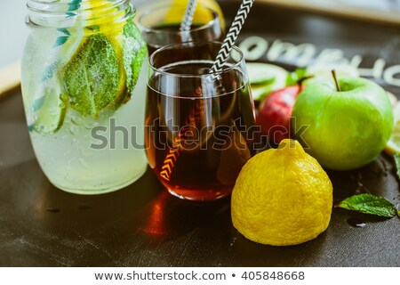 Apple Lemon Tea Stock photo © joker