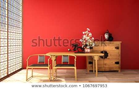 Chinese living  Stock photo © fatalsweets