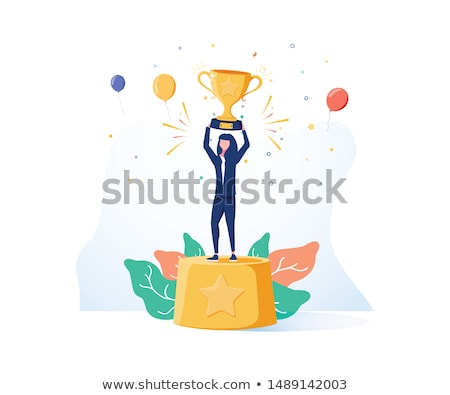 Winner success woman stock photo © Ariwasabi