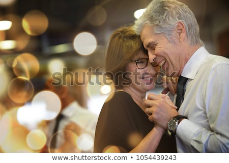 Belle couple bal danse vecteur sourire Photo stock © yura_fx