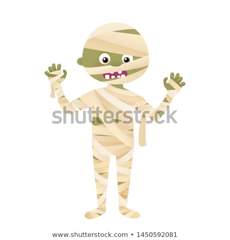 Cute Mummy Vector Stock photo © indiwarm