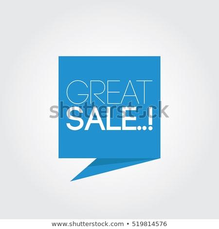 bocadillo · palabra · blanco · negocios · financiar - foto stock © kbuntu