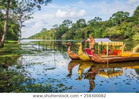 angkor wat temple near siem reap cambodia stock photo © travelphotography