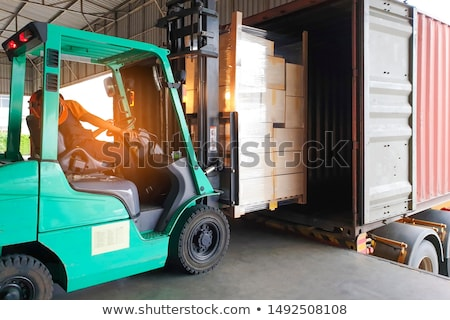 Container handling Stock photo © jakatics