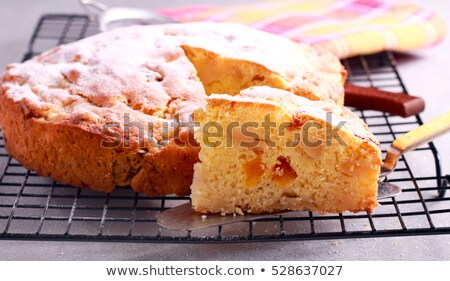apple and apricots cakes stock photo © compuinfoto