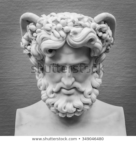 Masculino pedra escultura florence Itália atrás Foto stock © prill