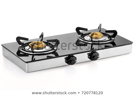 blue gas-stove isolated Stock photo © shutswis