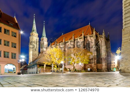 cathedral st lorenz of nuremberg stock photo © spectral