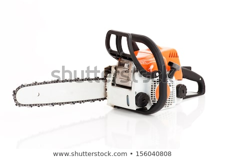 chainsaw isolated on the white background stock photo © shutswis