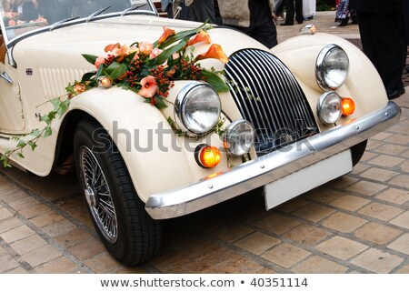 Classic wedding car Stock photo © paulfleet