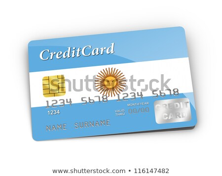 buying with credit card in argentina Stock photo © vepar5