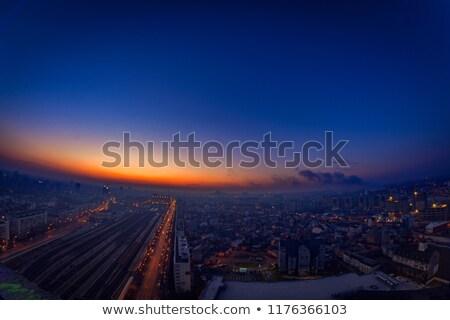 моста подробность ночь Бухарест Румыния Сток-фото © photosebia