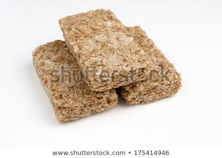 tápláló · kekszek · gabonapehely · izolált · fehér · egészséges · étrend - stock fotó © Len44ik