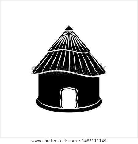 泥 · 小屋 · ビーチ · 家 · 典型的な · 住宅 - ストックフォト © jkraft5