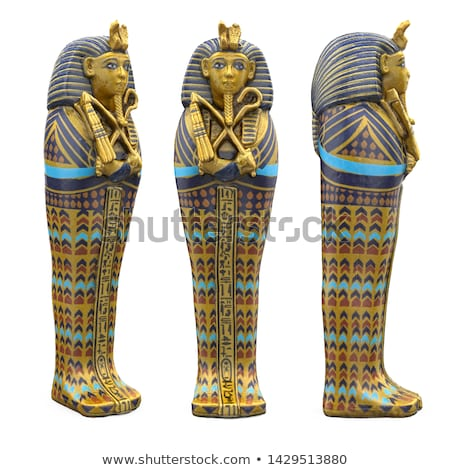 Ancient Egyptian Pharaoh Statue Stock photo © AlienCat