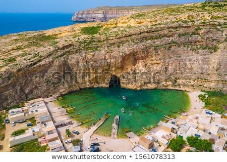 azure window at dwejra bay malta stock photo © tanart