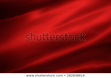 Vermelho cetim dobrado tecido útil fundos Foto stock © Es75