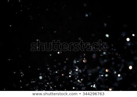 Brillant diamant noir isolé lumière Photo stock © 123dartist